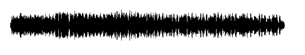 Remastered audio waveform